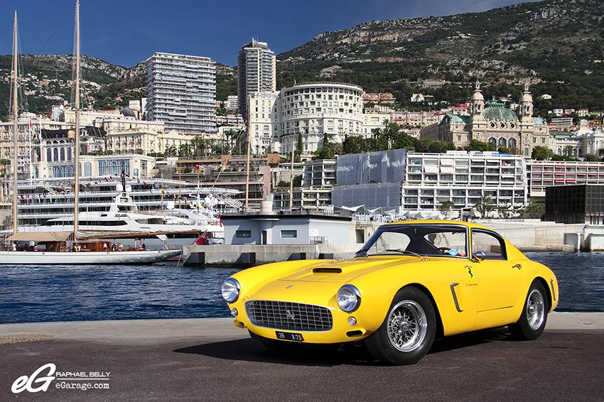 Ferrari 250 GT SWB Berlinetta Competizione Side Monaco