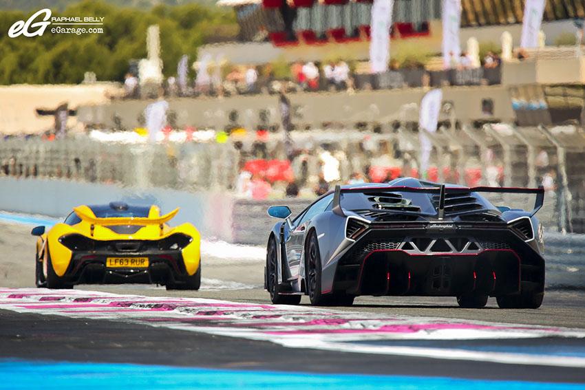 Lamborghini Veneno LP750-4 & McLaren P1