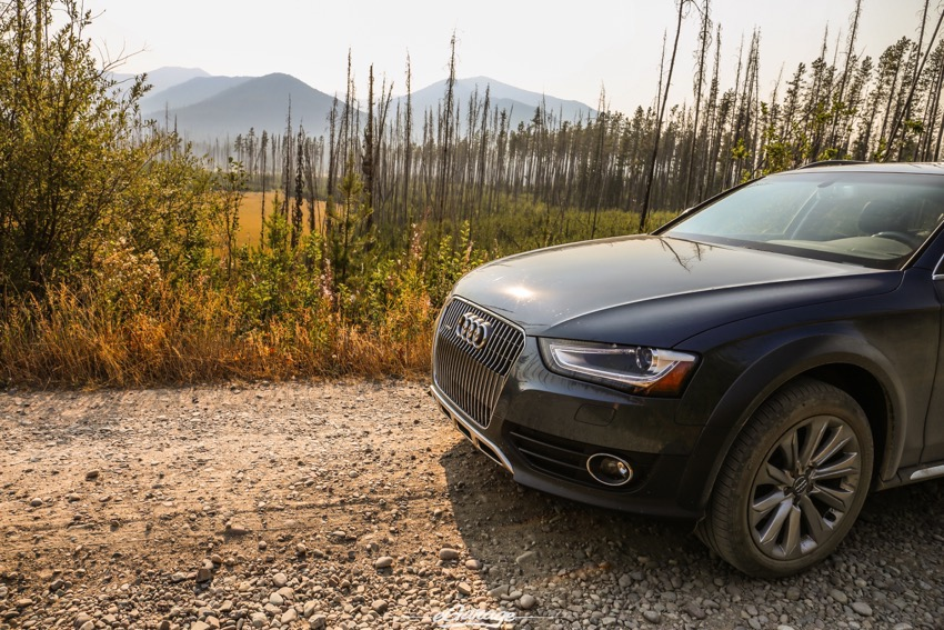 Going to the sun road audi allroad