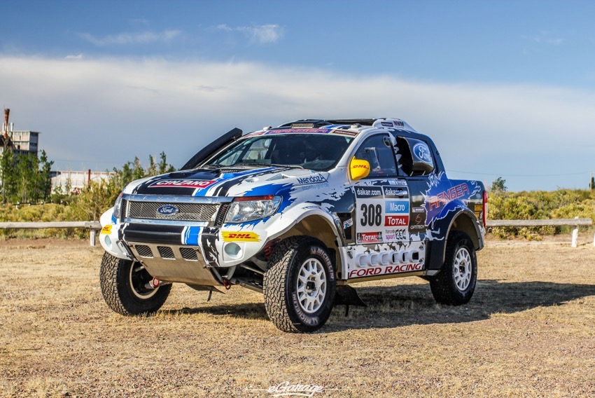 Ford Ranger Rally Truck Dakar Autos Post