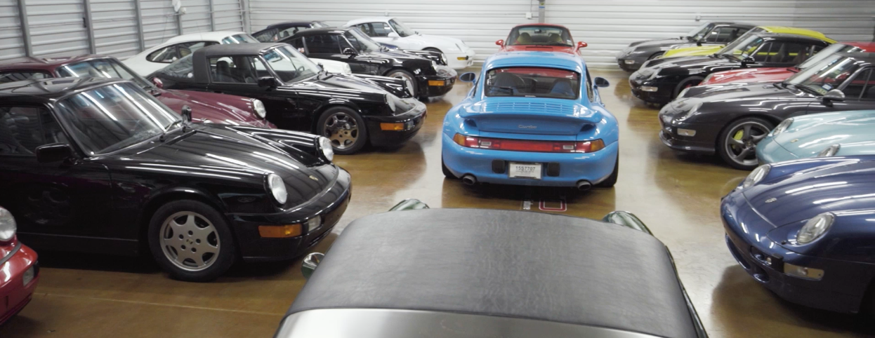 Rudyfied: A Colorful Porsche Collector