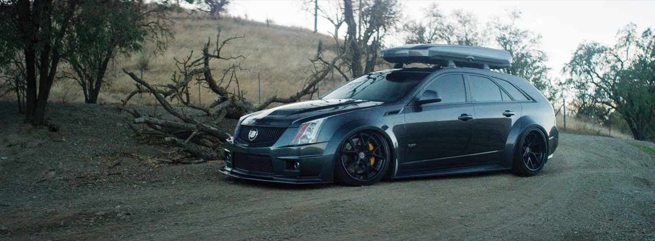 Station Weapon Cadillac CTSV Wagon