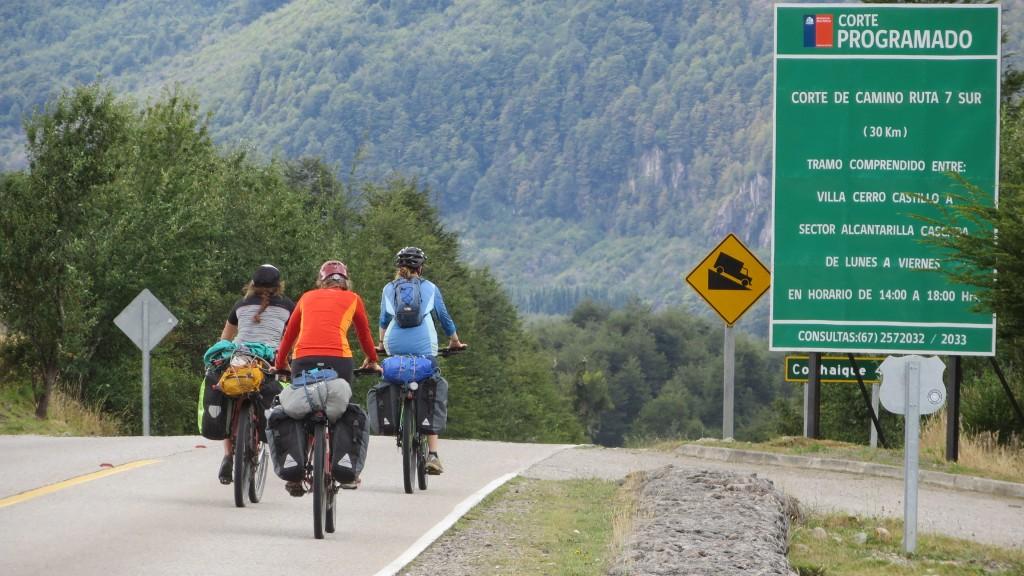 bikers Ruta 7 Patagonia