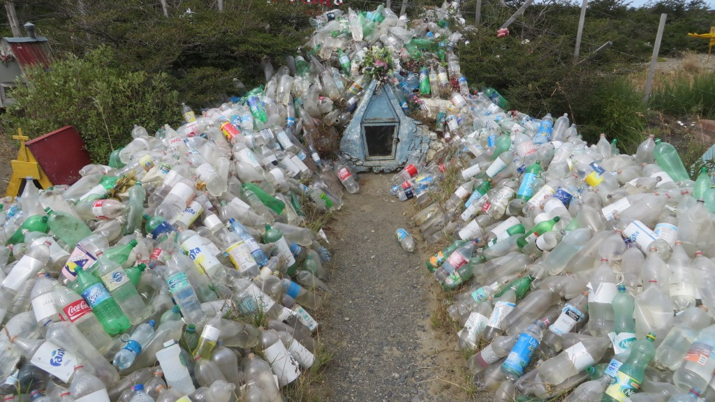 Water bottle memorial