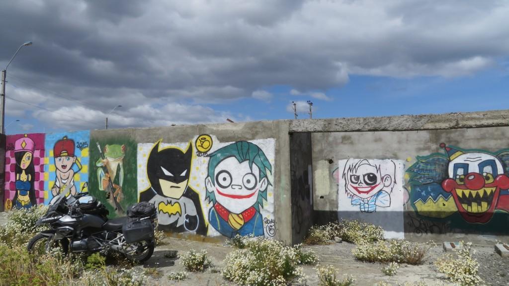 1200GS Patagonia mural