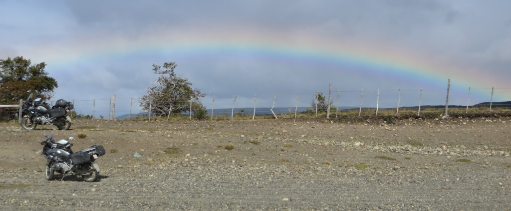 Rainbow Patagonia