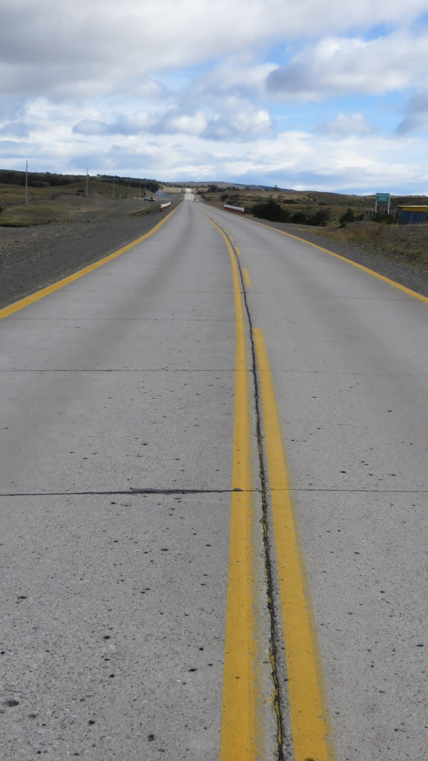 Patagonia straightaway