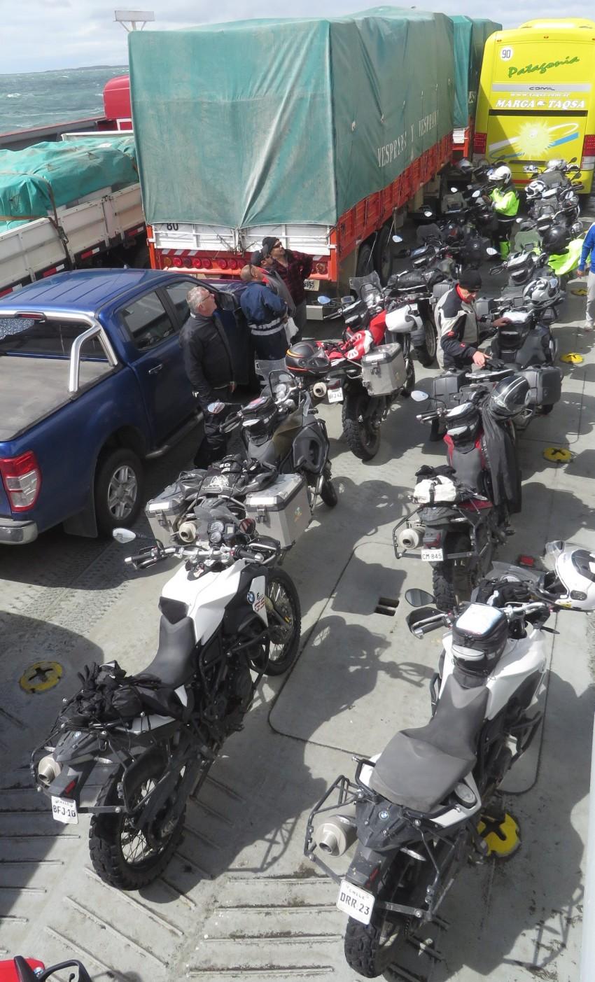 bikes on ferry