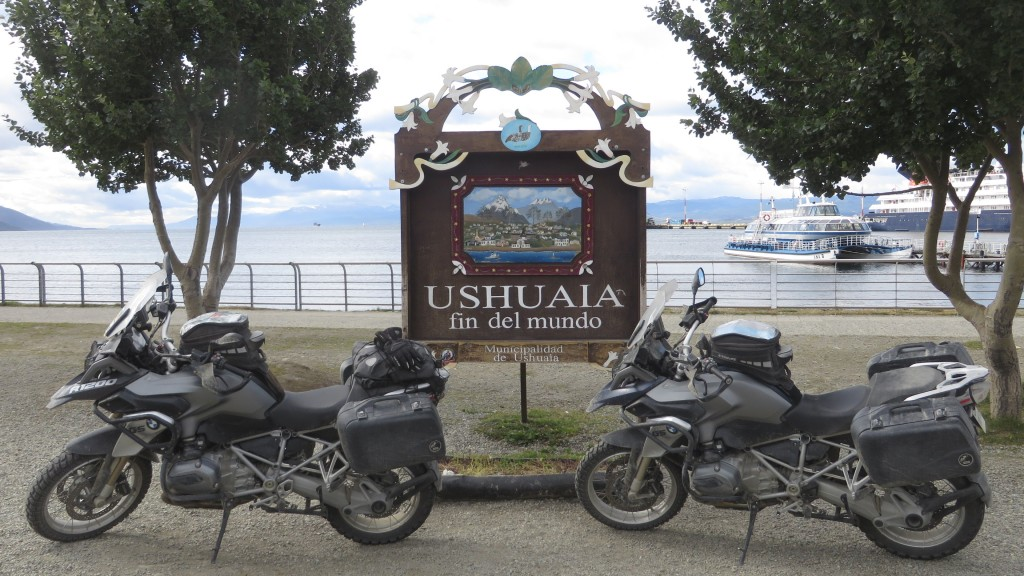 two bikes ushuaia find del mundo