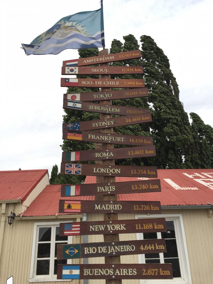 Patagonia signs