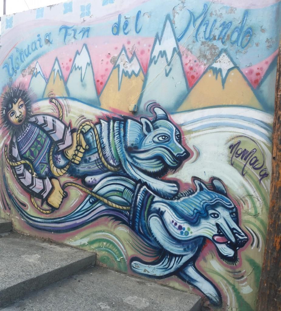 Dog Mural Ushuaia