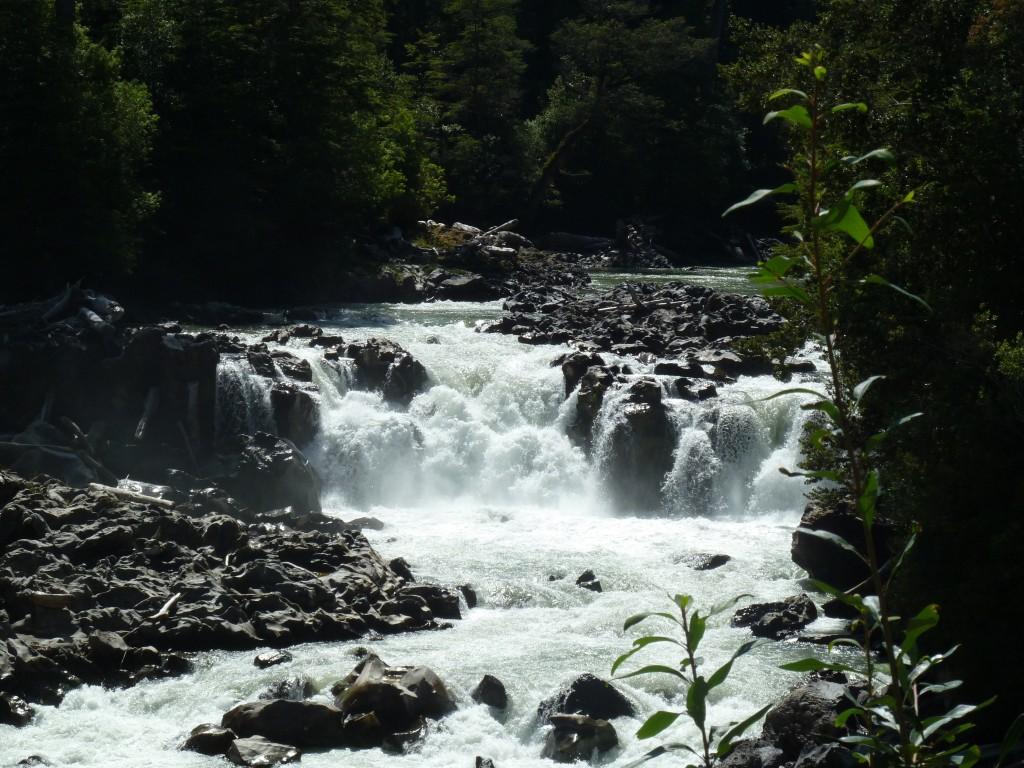 waterfall ushuaia