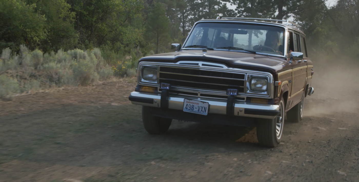 Along For The Ride | Jeep Grand Wagoneer